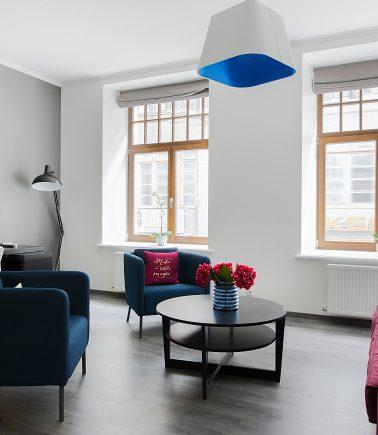 Blue Design Apartment