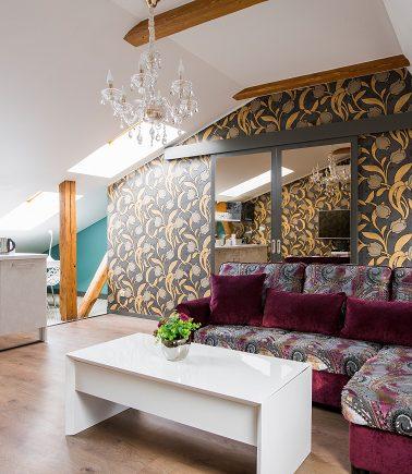 Violet Design Apartment