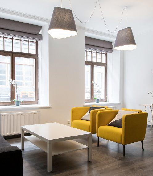 Yellow Design Apartment