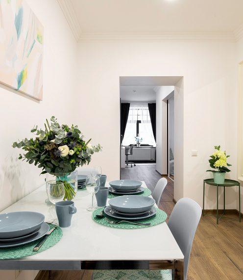 Mint Tone Design Apartment